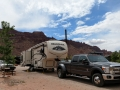 Our rig at the Moab KOA