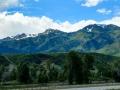 On the way to Salt Lake City - vista along I-80