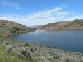On the way to Salt Lake City - Mountain Dell Reservoir