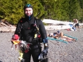 Jeff Scuba Diving at Lake Crescent