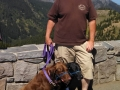 Jerry & Pups at Hurricane Ridge, Olympic NP