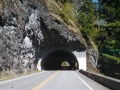 Tunnel on the way to Hurricane Ridge, Olympic NP