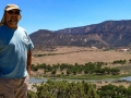 Jerry at Green River overlook - Dinosaur National Monument