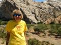Kim at Green River - Dinosaur National Monument, Utah/Colorado