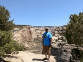 Jerry at Yampa River overlook - Dinosaur National Monument