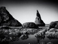 Bandon Rocks in Black & White