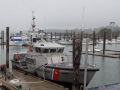 Bandon Port and Coast Guard Cutter