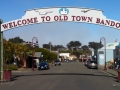 Bandon Old Town & Welcome Sign