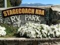 Banning Stagecoach KOA Entrance Sign
