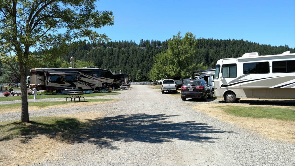 Campground Review Blackwell Island Rv Park Coeur D