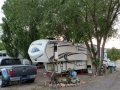 Our Rig at the Blue Cut RV Park