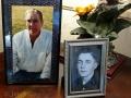 Memorial photos of Kim's dad, Bob Kennedy
