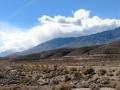 View of Owens Lake/Sierras from Boulder Creek RV Resort
