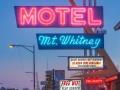 Motel Mt Whitney Vintage Neon
