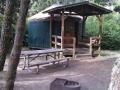 Yurt at Bullards Beach State Park