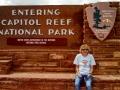 Kim-at-Capitol-Reef-Sign
