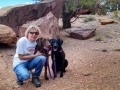 Kim-n-pupps-at-Capitol-Reef