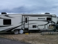 Our rig at Cascade Meadows RV Resort
