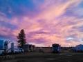 Sunset at Cascade Meadows RV Resort