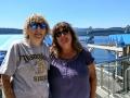 Carrie & Kim at Coeur d'Alene Resort Marina