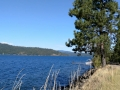 Scenic Lake Coeur d'Alene, Idaho