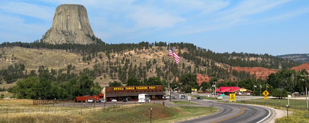 Campground Review Devils Tower Black Hills Koa Devils