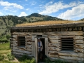 Jerry in the Bannack State Park/Ghost Town Jailhouse
