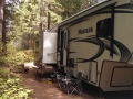 Our rig at Dow Creek RV Resort