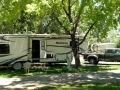 Our Rig at Fossil Valley RV Park