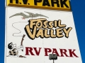 Fossil Valley RV Park - Sign