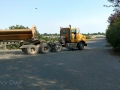 Great Falls KOA - Heavy Truck Traffic on Frontage Road