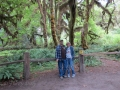 Kim & Jerry at the Hoh Rainforest Hall of Mosses