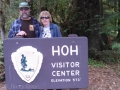 Kim & Jerry at the Hoh Rainforest