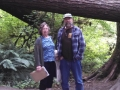 Mom & Jerry at the Hoh Rainforest