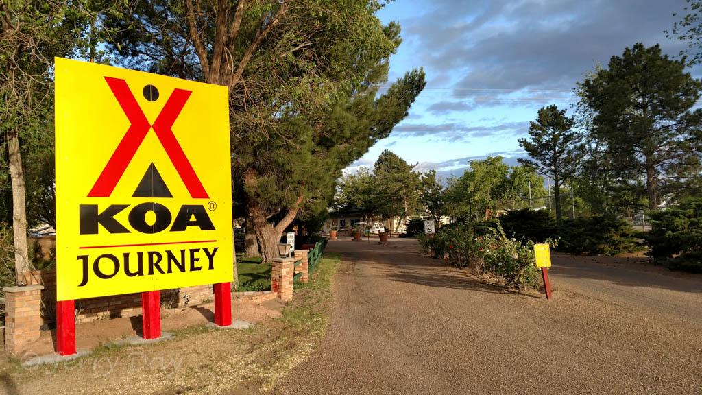 Map Of Koa Arizona.Campground Review Holbrook Petrified Forest Koa Journey
