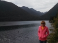Kim at Lake Cushman
