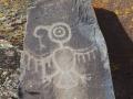 Horsethief Lake Rock Art - Petroglyph