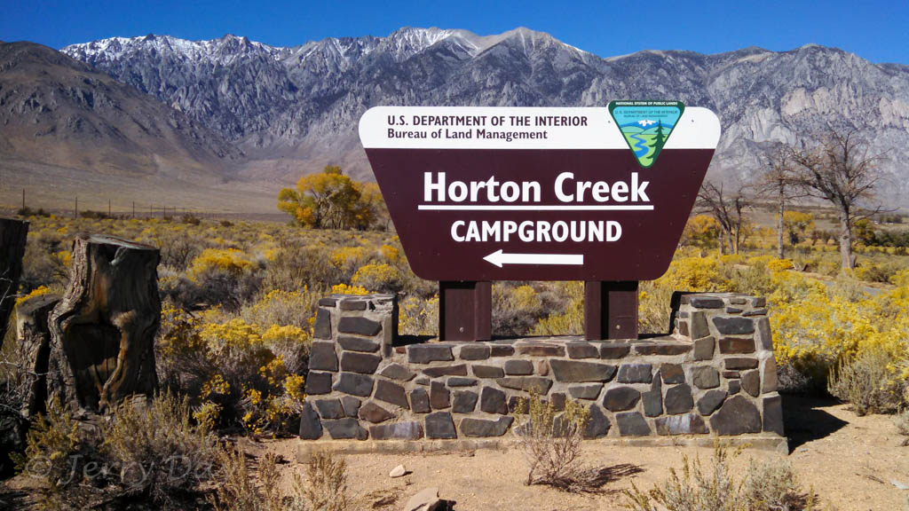 Campground Review Blm Horton Creek Campground Bishop
