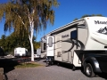 Our rig at Klamath Falls KOA Journey