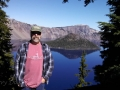 Jerry at Crater Lake National Park, Oregon