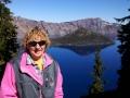 Kim at Crater Lake National Park, Oregon