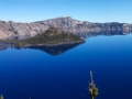 Wizard Island & Crater Lake, Crater Lake National Park, Oregon