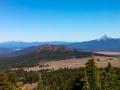 Vista from Crater Lake, Crater Lake National Park, Oregon
