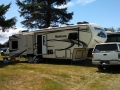 Our Rig at K/M Resorts Columbia Shores RV Park