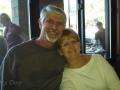 Having lunch with Kim's friends, Loraine & Scott, in Bend, Oregon