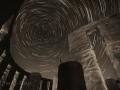 Maryhill Stonehenge by Night (b/w)