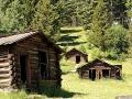 Garnet Ghost Town State Park - Cabins