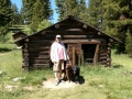 Jerry & the Pups at Garnet Ghost Town State Park