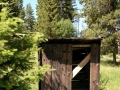 Garnet Ghost Town State Park - Outhouse