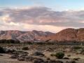 Mojave River Forks Vista at Sunset